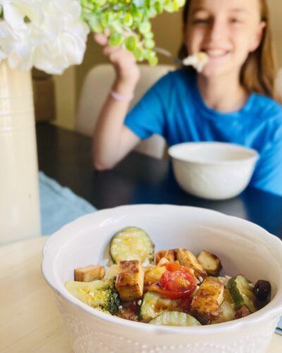 Easy Teriyaki Tofu Bowl