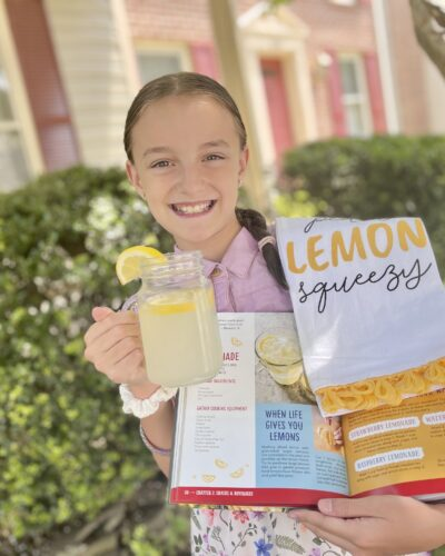 Cooking With Kids – Easy Peasy, Lemon Squeezy